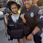 Image for the Tweet beginning: .@OfficerPag and the kids are
