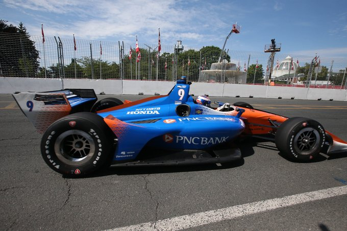 A sweep for @scottdixon9 for Day 1 practice sessions of the #IndyTO. 🇨🇦 RESULTS ➡️ #INDYCAR // @hondaindy Photo