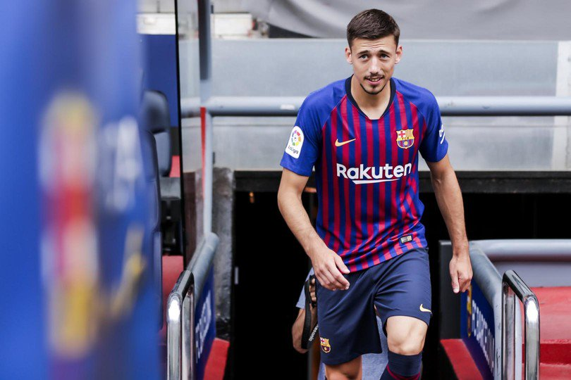 Looking sharp, @clement_lenglet! �� More pics ➡️ https://t.co/4q4p5tOkea #EnjoyLenglet ���� #EnjoyBarça https://t.co/r5gF6hB2Hc