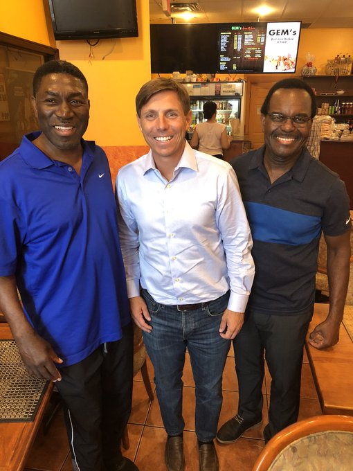 Great to have lunch today with my friend Garnett Manning at Gems in #Brampton. Garnett is a former Brampton City Councillor and a well respected community activist. I am proud he is joining my campaign team for regional chair as one of our honourary chairs. #RegionOfPeel Photo