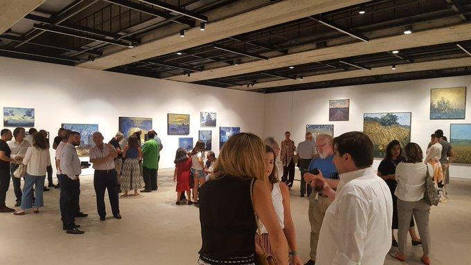 Beautiful opening of Oussama Baalbaki at Saleh Barakat Gallery. A must see! Photo