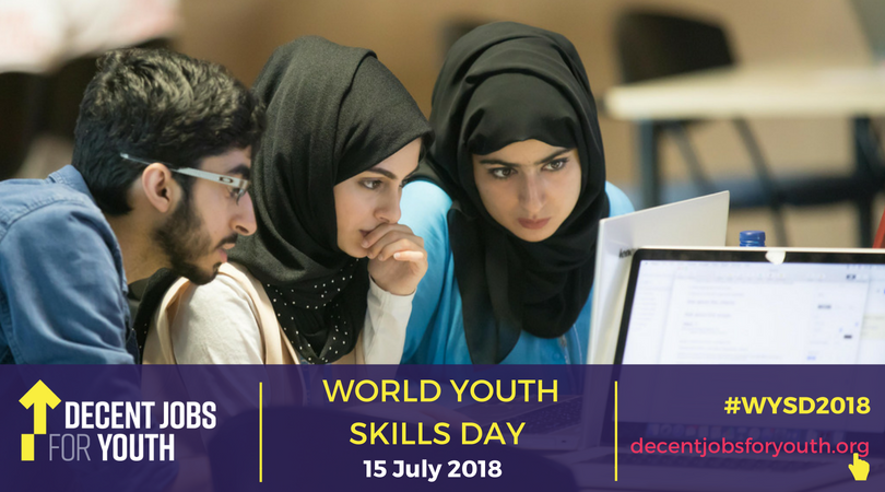 Investing today in youth skills means investing in the present & future of our societies. Learn more about Sundays Youth Skills Day: bit.ly/1CEOpx5