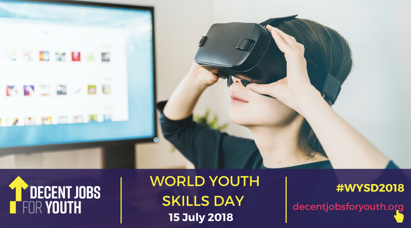 Youth unemployment has hit alarming levels worldwide. Tackling the skills gap can help achieve decent jobs for young people everywhere. More on Sundays Youth Skills Day: bit.ly/2mbEXfh #WYSD2018