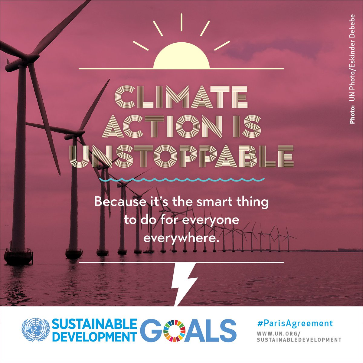 Climate change is real & its happening now. But taking urgent climate action will create jobs, improve our health & save money. Heres what you can do: j.mp/1BvpjPo #GlobalGoals