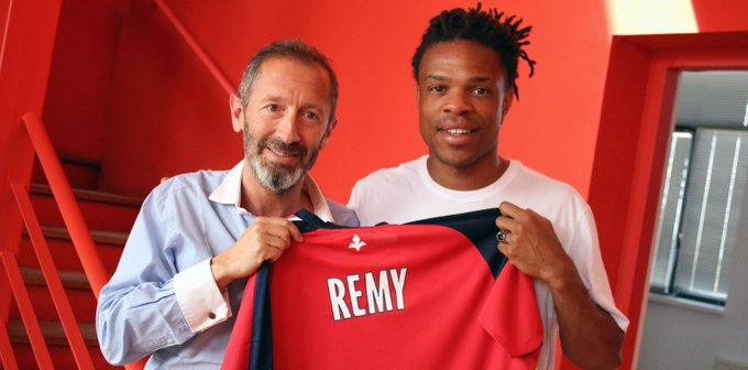 Lille have signed Loic Remy from Las Palmas on a 2 years deal. Photo