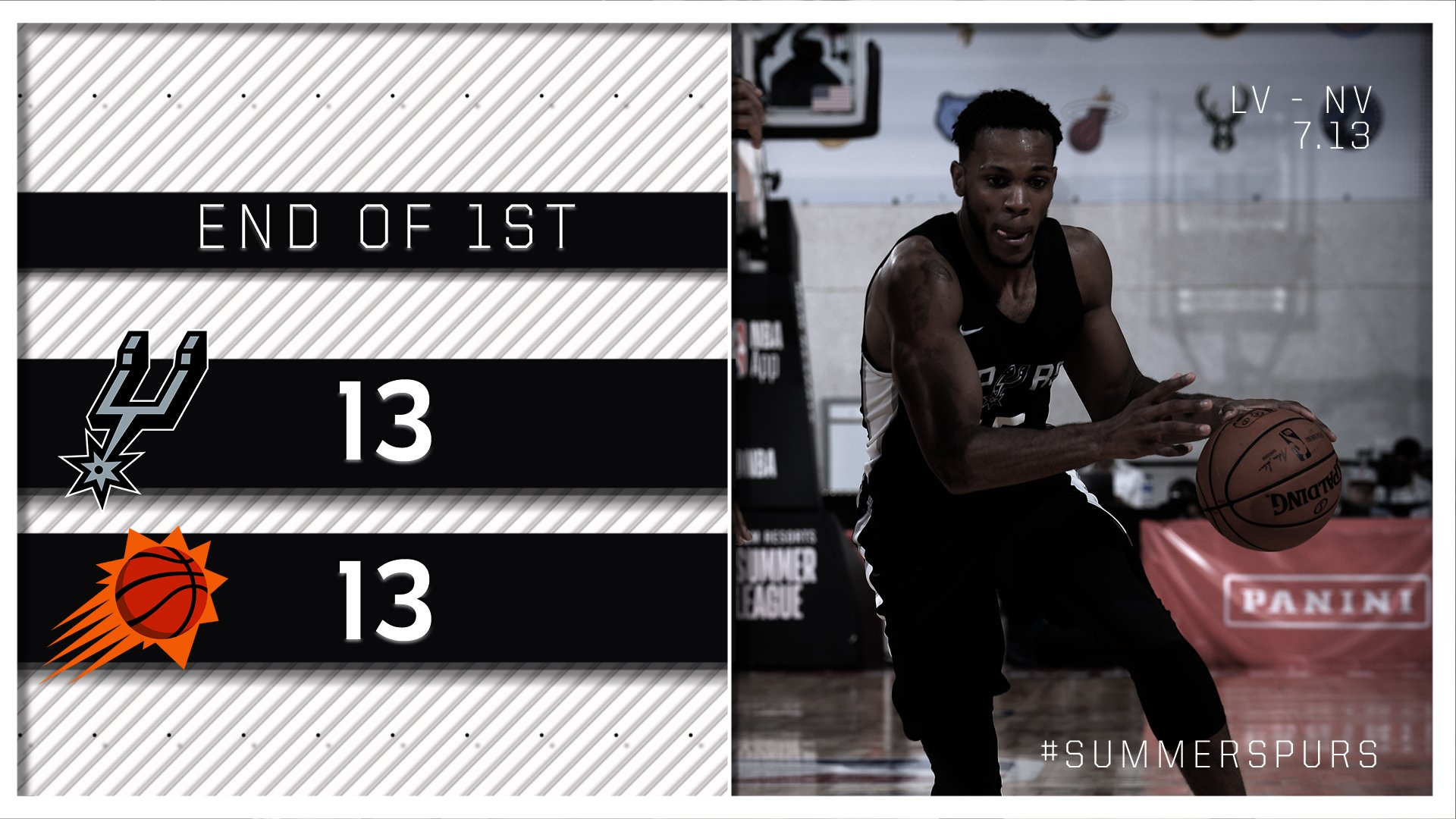 End of one.  #SummerSpurs https://t.co/yvUD6waZEE