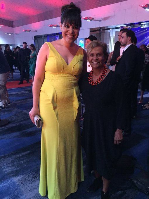 Lovely to catch up with Aunty Pam at last night's National #NAIDOC2018 Awards! #BecauseOfHerWeCan Photo