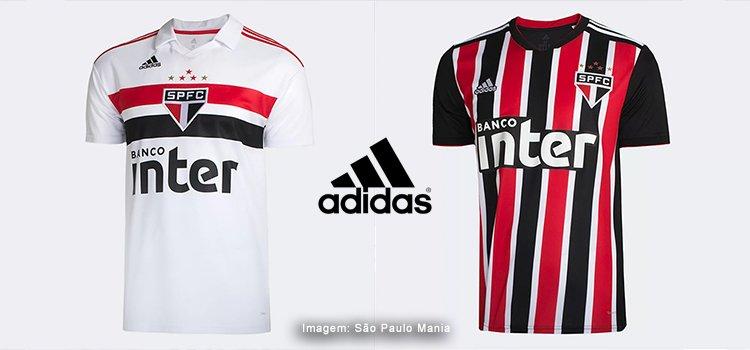 Compre as camisas Adidas SPFC na loja oficial do São Paulo na internet.  Masculina 99c79919350ef