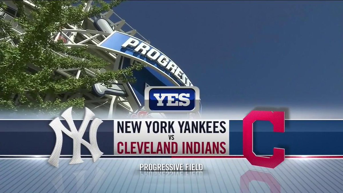 "yes network on twitter: ""go time in cleveland! tv: #yanksonyes live"