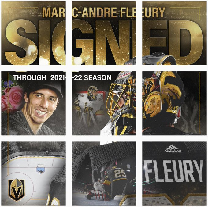 The @GoldenKnights Instagram certainly has a clear theme today 🌸 Full story: Photo