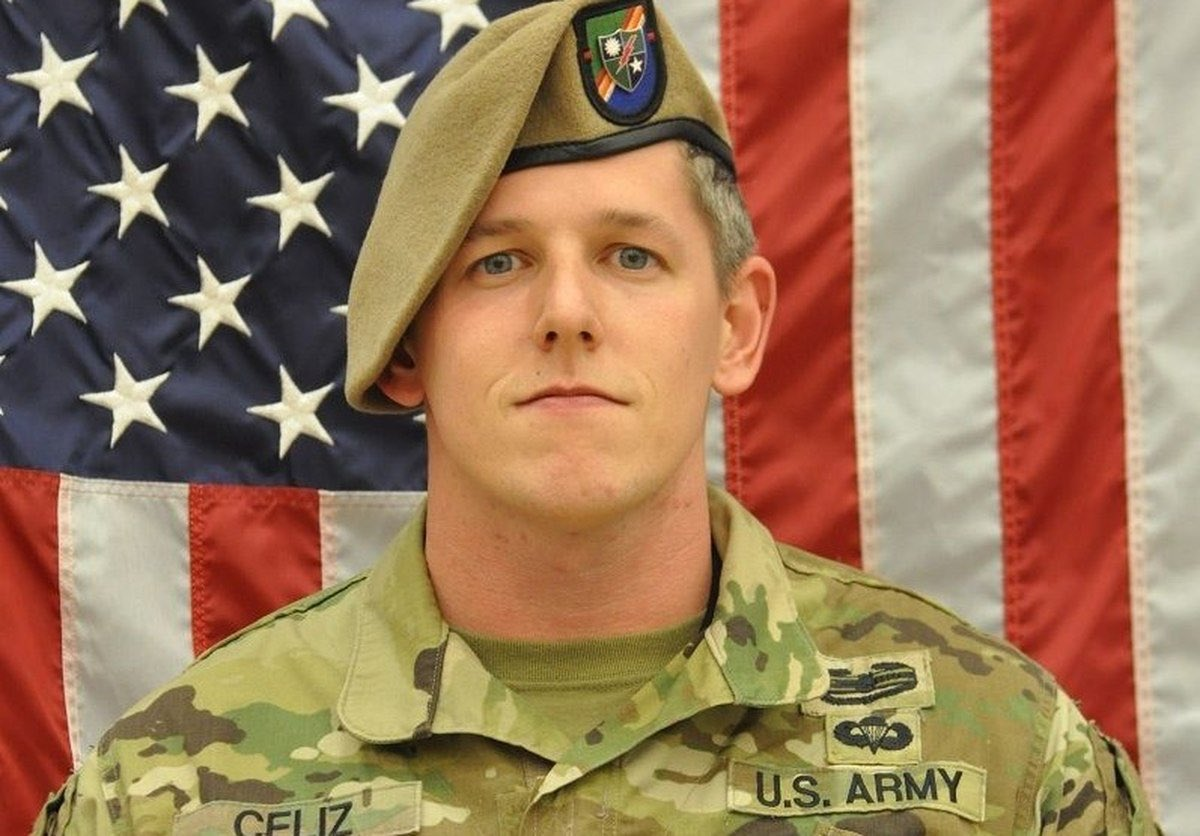 """Pentagon IDs soldier KIA July 12 in Afghanistan as SFC Christopher Andrew Celiz, 32, from Summerville, SC; """"wounds sustained as a result of enemy small arms fire while conducting operations in support of a medical evacuation landing zone in Zurmat district, Paktiya province."""""""
