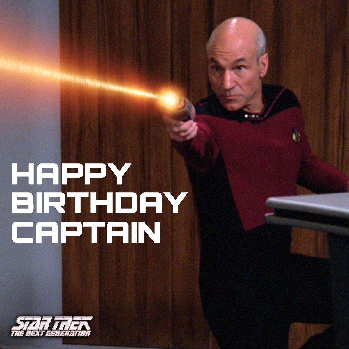 Happy Birthday Captain, have a blast! #StarTrek @SirPatStew