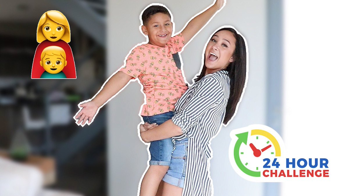 NEW VIDEO IS UP! 🎉 RT FOR A CHEEKY DM🤘🏼 BEING A MOM FOR 24 HOURS CHALLENGE!! 😱👩👦❤️ youtu.be/IfAK4e0UZDA