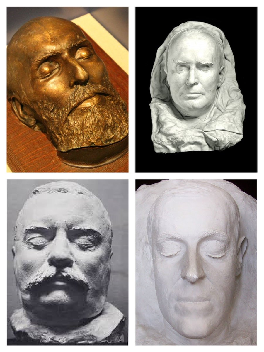 Presidential Trivia On Twitter Death Masks Of Garfield Mckinley Tr And Wilson You Can See The Garfield Mask At The James A Garfield National Historic Site Visitor Center In Mentor Ohio Garfieldnps