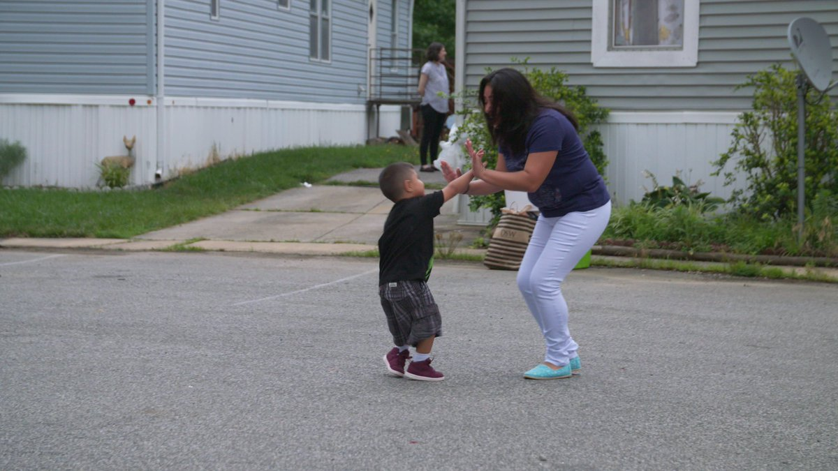 Here is one of our clients, playing with her son now that they are reunited and living with family. This is what were fighting for — to ensure these families are reunited and can begin to recover from the trauma that the Trump administration inflicted. #FamiliesBelongTogether