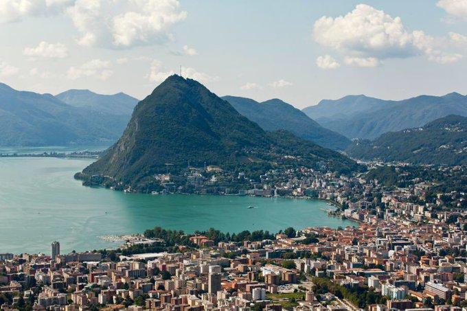 Vandaag op de planning. Bezoek aan de Monte Bre en San Salvatore. Met vanavond #Lugano - #Inter in het Stadio Di Cornaredo. Foto