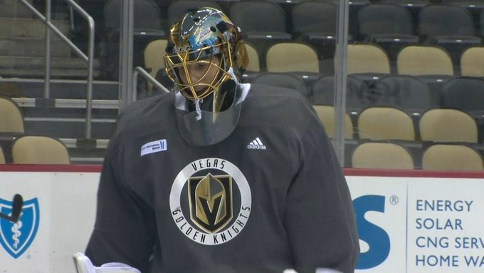 Marc-Andre Fleury agrees to 3-year contract extension with Vegas Golden Knights Photo