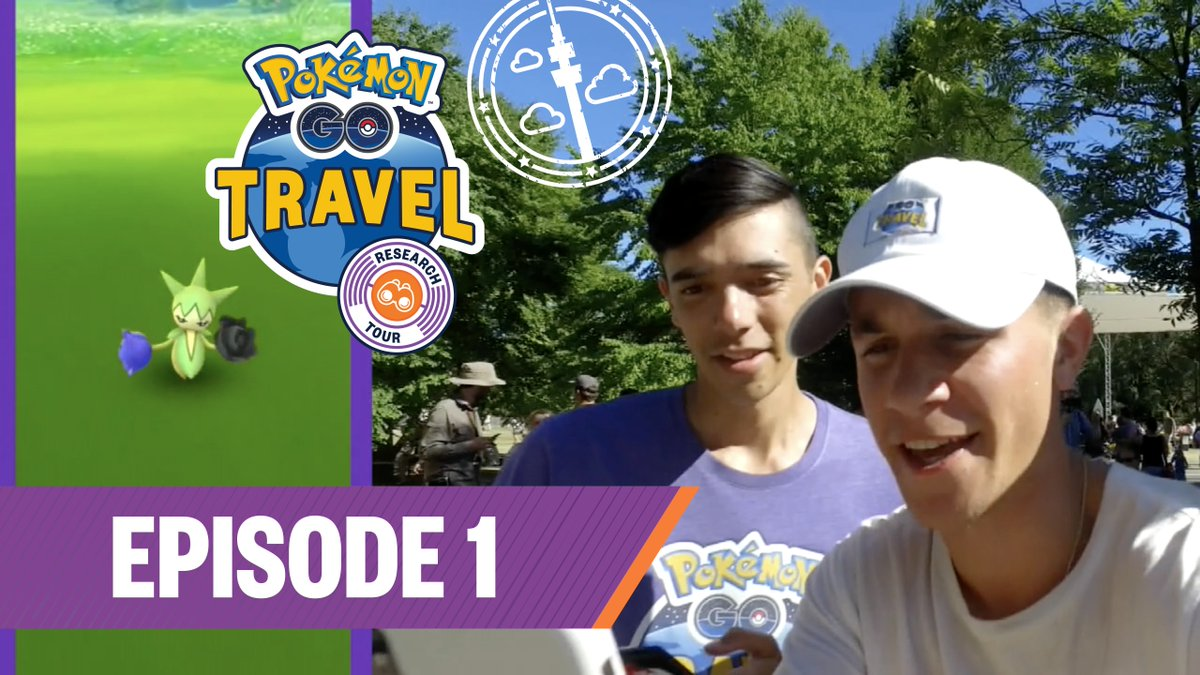 Pokémon GO Travel is back! Join @mystic7, @trnrtips, and others as they visit the Pokémon GO Safari Zone and the city of Dortmund, Germany! youtube.com/watch?v=uRO4OF…