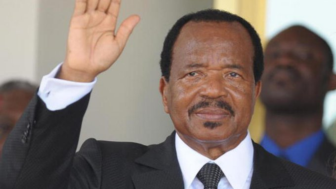 Cameroun: Paul Biya annonce sa candidature à la présidentielle du 7octobre Photo