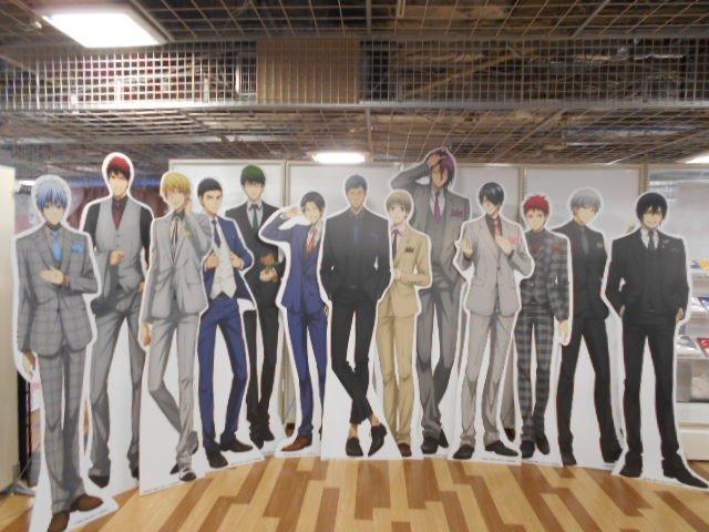 【キャラポップストア】『黒子のバスケ J-WORLD COLLECTION』のキャラパネルスタンドが全キャラ到着いたしました!写真撮影は可能ですのでぜひご来店くださいませ♪ #黒子のバスケ