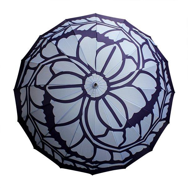 #メンズ日傘 せやかて日傘ってレースばっかりやん、というかたには既出かもしれないけど、北斎グラフィックの日傘をお勧めしたい。晴雨兼用の渋い和柄が揃っているんだここは。