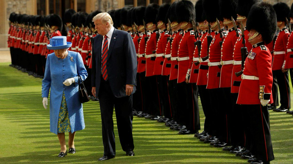 12 News On Twitter Trumps Meet Queen Elizabeth Ii Treated To Royal Pomp Pageantry And Tea Https T Co Bcbhrhoov0 Ehowa.com is tracked by us since april, 2011. twitter