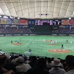 Image for the Tweet beginning: 久しぶりに 都市対抗野球!!!  太田市が9回2アウトから同点ホームランを放ち延長戦に入っております