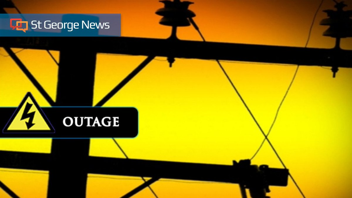 St George News On Twitter Crews Responding To Power Outages In St