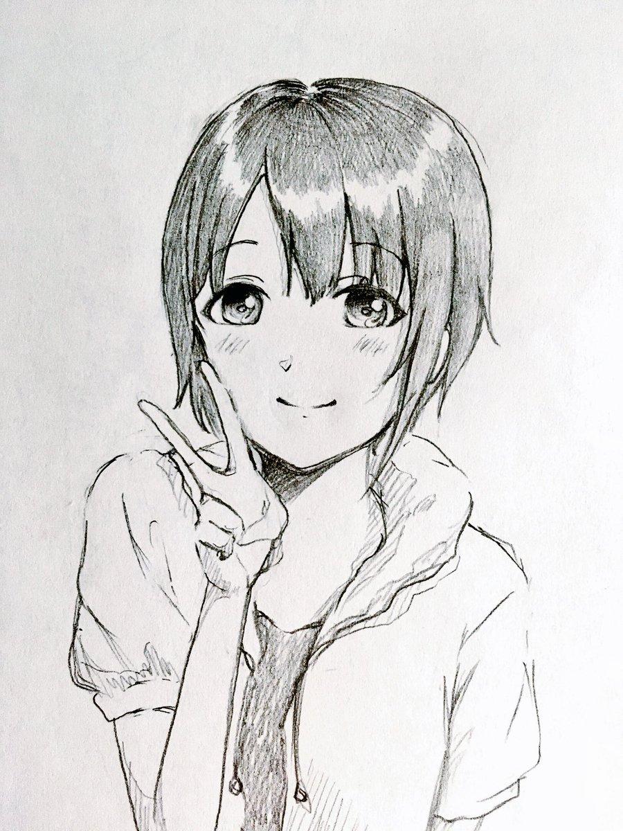 乙倉悠貴ちゃん描きました