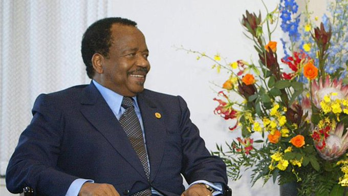 Cameroon President Paul Biya to stand for seventh term Photo