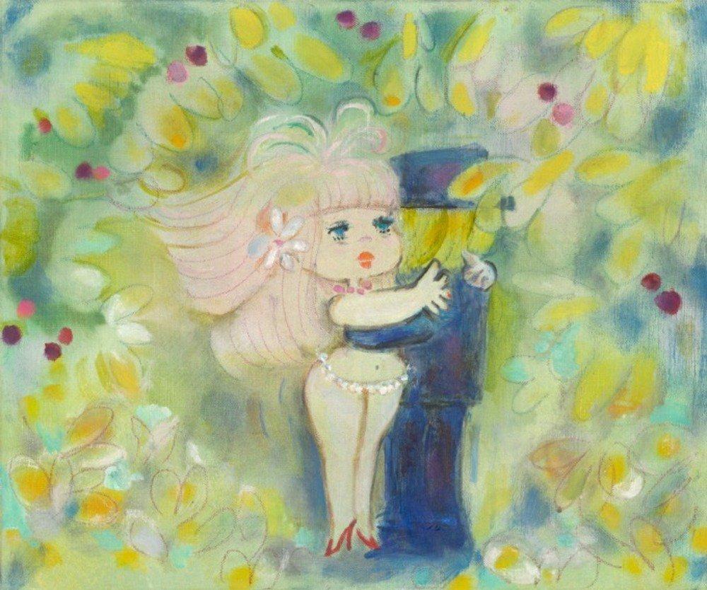 「水森亜土のカワイイ世界展」新作含む原画&版画を展示販売、上大岡の京急百貨店で -