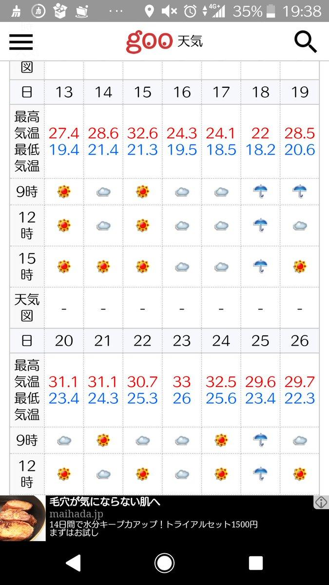 エアコン普及してなかった時代はどうやって過ごしてたんだっけ気温が違うってほんとかな?と思って調べたら昔の天気が見れる便利なサイト見付けました。そして自分が赤ん坊の頃の7月の気温見てヒエッってなった。