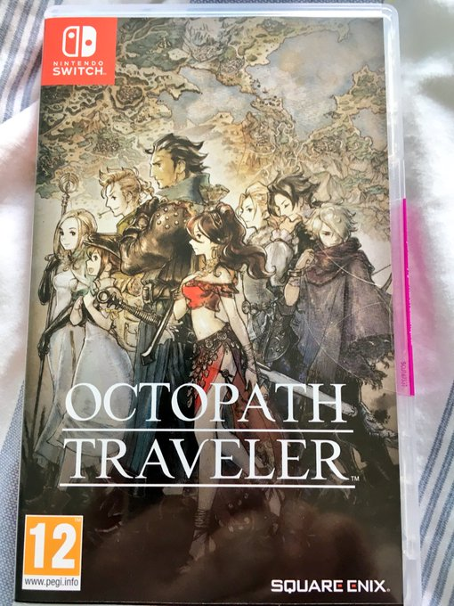 Yay I got #OCTOPATHTRAVELER on #NintendoSwitch & My Demo save file is in the full game now! 😄 @JustGreenOne Photo