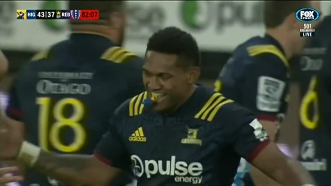 One of the hits of the season savagely ends the Rebels last chance - - #HIGvREB Photo