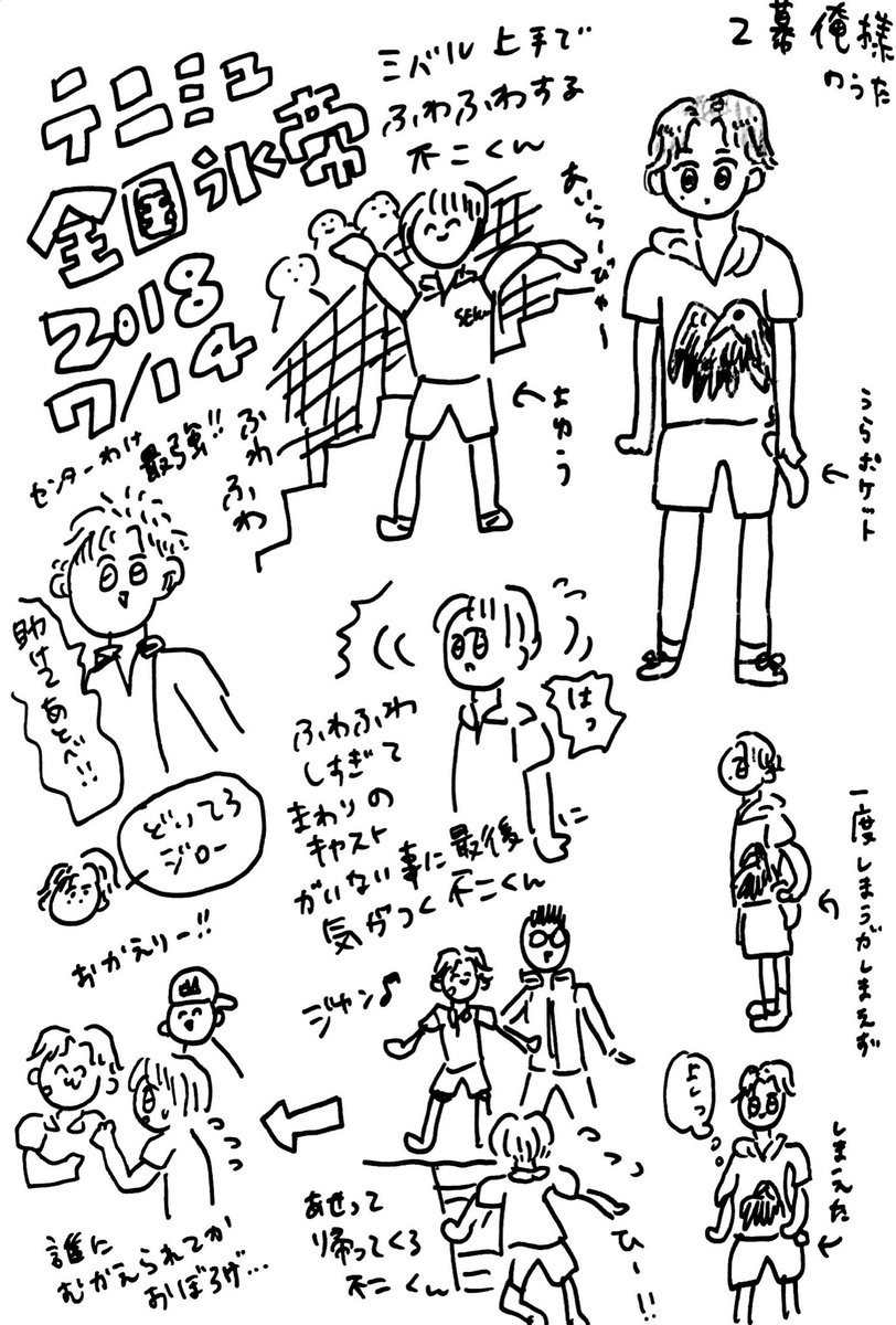テニミュ 全国氷帝7/14ソワレ
