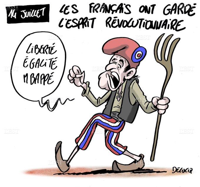 Week-end du 14 juillet très spécial. #14juillet #FRACRO (par @DelucqX) Foto