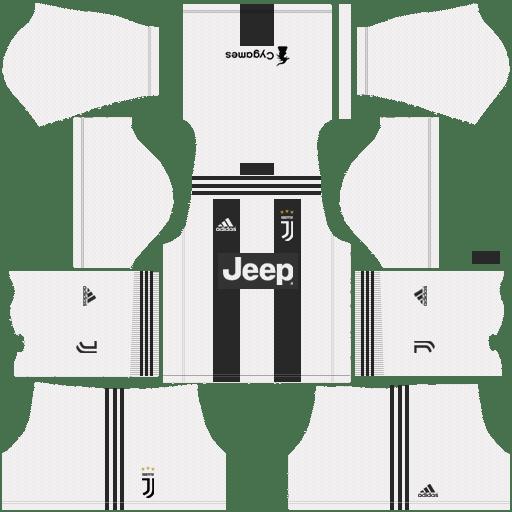 online store 640e4 bce85 Juventus F.C. 2018-19 Kit for Dream League Soccer Tweet ...