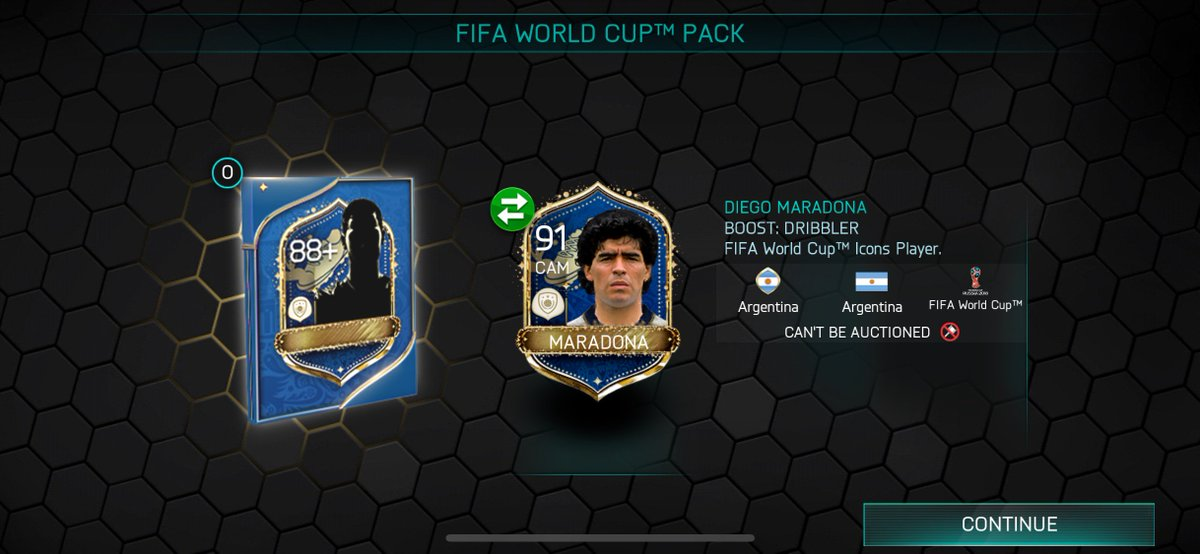 Free icon pack available, share your pulls @EAFIFAMOBILE
