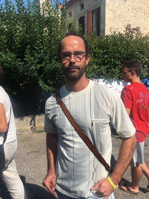 .@CedricHerrou est arrivé à la rencontre Solidaire est-il devenu un gros mot? pour parler de son expérience de la crise migratoire. Début de ce live tweet ! #FestJournalisme Photo