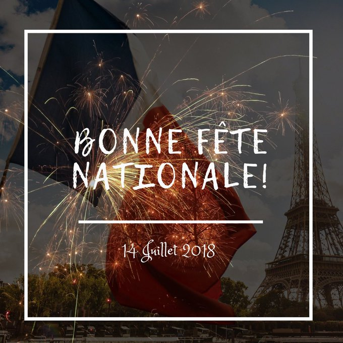 Bonne Fête Nationale Photo