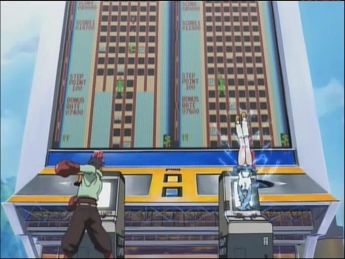 「ハイスコアガール」って、どんなアニメだったっけ?逆立ちしてゲームクリアするやつ?