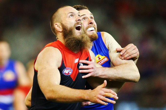 'Best quarter of rucking I've ever seen': Max for Brownlow? #AFLDeesDogs MORE: Photo