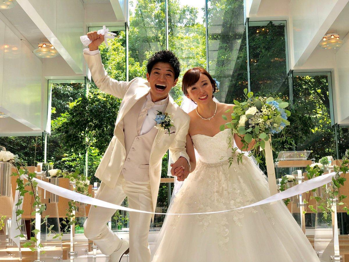 入籍して8ヶ月…  本日、結婚披露宴。  ご列席くださった皆さま。  関わってくださった全ての関係者の皆さま。  感謝!!!!!!!!!!  #和田正人 #吉木りさ