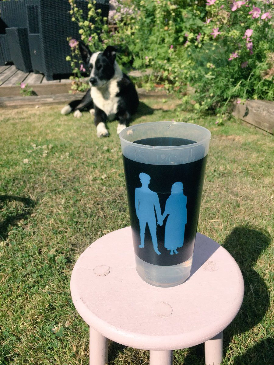 My @rcupworld from @U2 concert in 1 July @TheGarden to being used in my garden in Belfast, N. Ireland #reuse2reduce