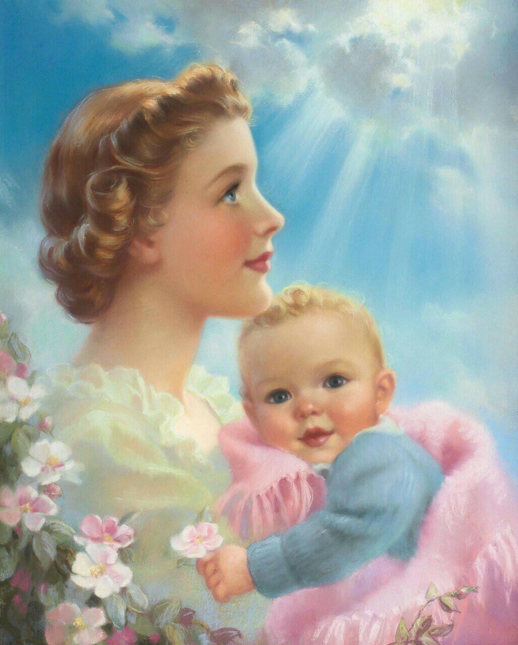 Картинки новый, открытки с младенцем на руках