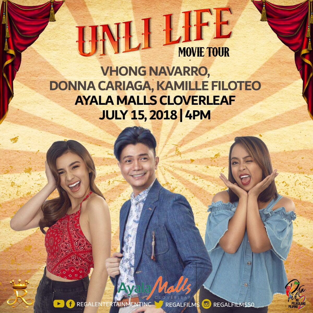 Regal Films On Twitter Makisaya At Samahan Ang Cast Ng Unli Life