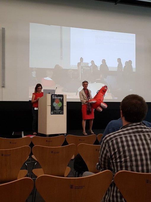 #bib11 Emma wird nächtes Jahr in Köln auf die Bibcamp-Teilnehmenden am 15. unf warten #bib12 Foto