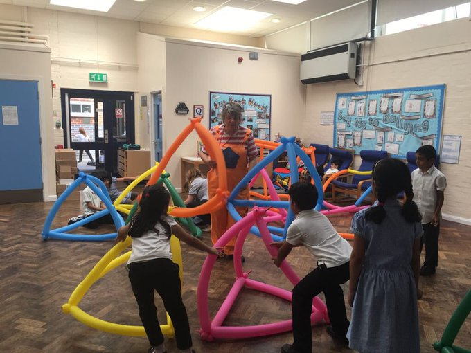 What a fantastic way to learn maths! Thank you Bubbly Maths @BubblyMaths Photo