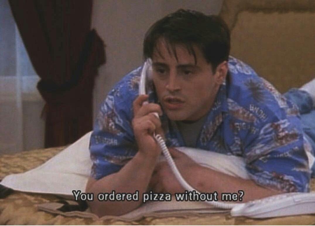 Yaaa Joey sen de benim bebeğimsin biliyosun ❤