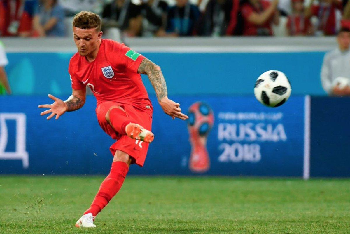 Kieran Trippier created more chances (24) at the 2018 #WorldCup  than:  Neymar (23) K. De Bruyne (23) E. Hazard (15) Coutinho (13) L. Messi (10)   #ENG <br>http://pic.twitter.com/Ezk9DdNBge
